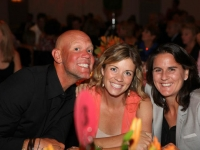 With Murphy Jensen and fiance at the charity Gala.