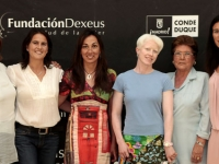 Conchita at the women and sports round table organized by YO DONA and Dexeus of womens health at the count duke of Madrid.