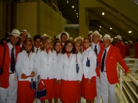 All the tennis team is looking forward to parade in the Olympic Games of Athens 2004