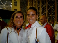 With Magui Serna ceremony in Athens 2004