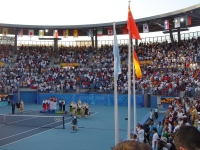 Conchita and Virginia win the silver medal in Athens 2004