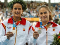 Conchita and Virginia winners of the silver medal Athens 2004