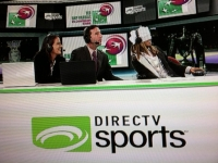 Conchita commentating on the woman's masters in 2011 in Istanbul for Disrectvsports