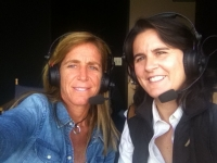 Conchita and Patricia Tarabini working together in the Indian Wells tournament